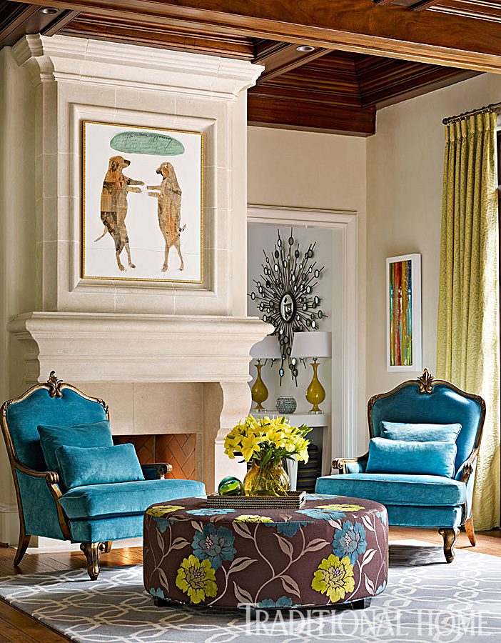 Elegant Atlanta Home With A Quiet Palette  Traditional Home
