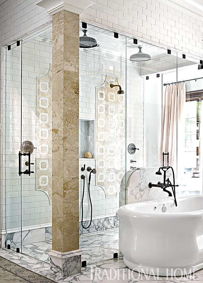 MindBlowing MasterBath Showers  Traditional Home