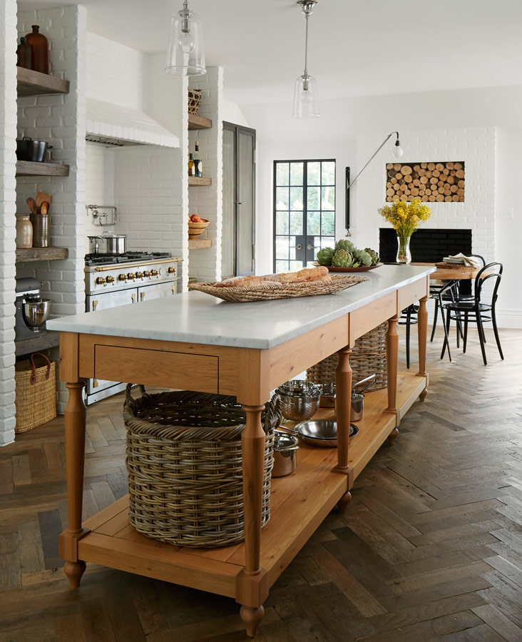 kitchen island and table aid mixing bowls 12 great ideas traditional home enlarge