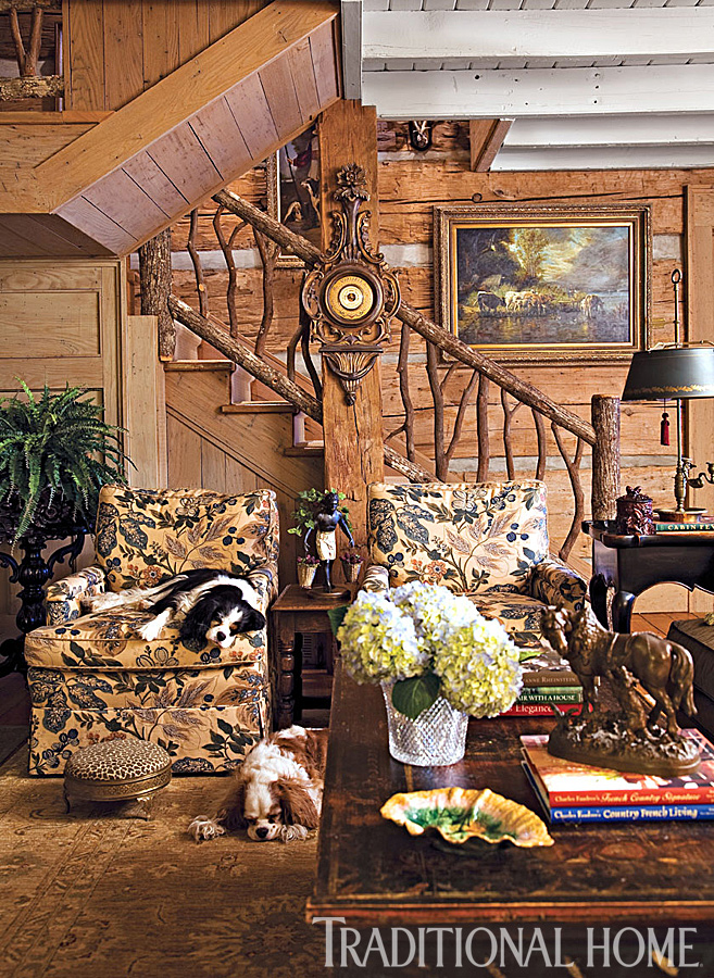 Carolina Cabin Designed by Charles Faudree  Traditional Home