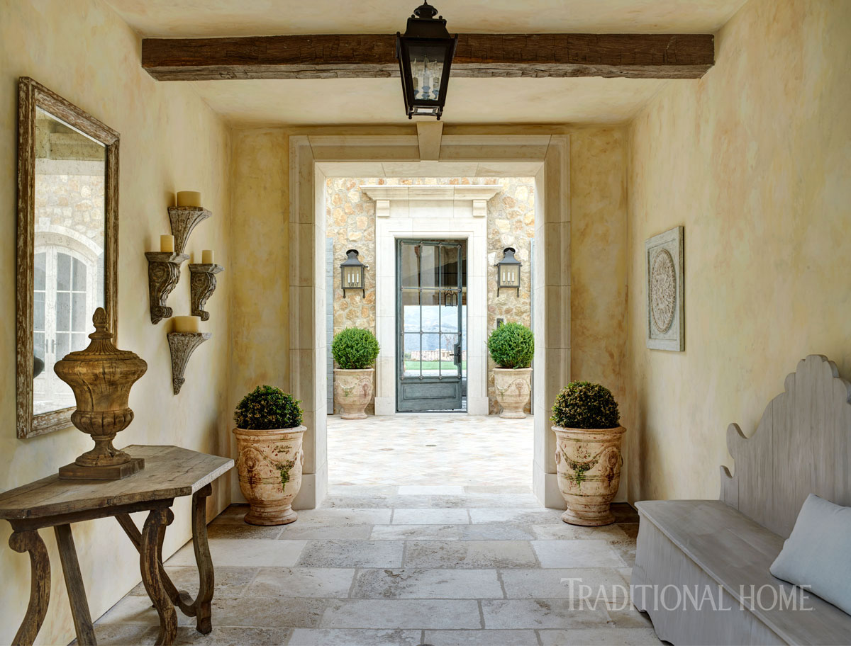 California Home with Provenal Style  Traditional Home