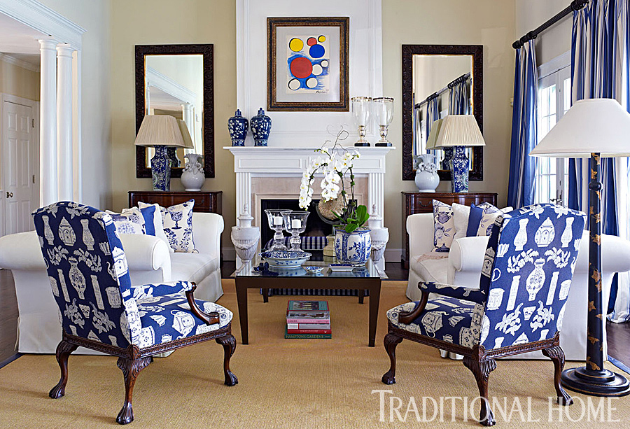 A Fashion Designers Home in the Hamptons  Traditional Home