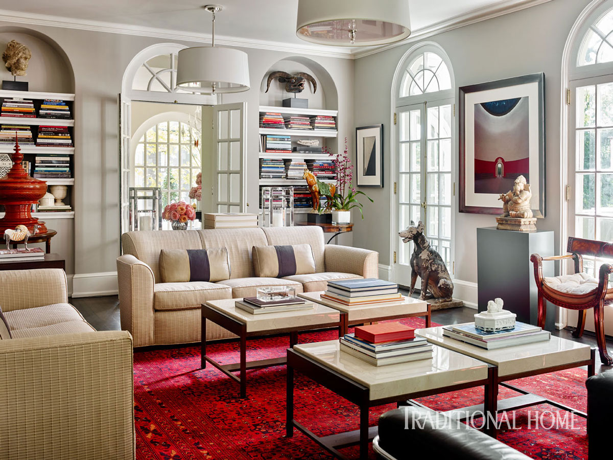 Designer Vern Yips Georgia Home  Traditional Home