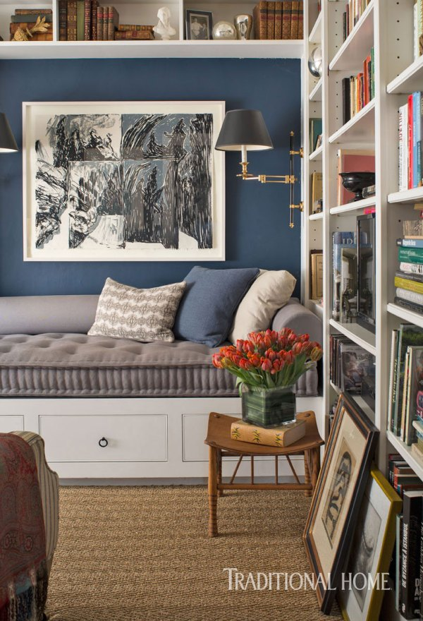 Spare Room Reading Nook