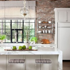 Rohl Kitchen Faucet Decorations For Counters Texas With Rustic Glamour | Traditional Home