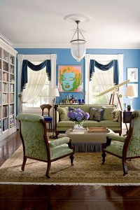 Dramatic Window Treatments | Traditional Home