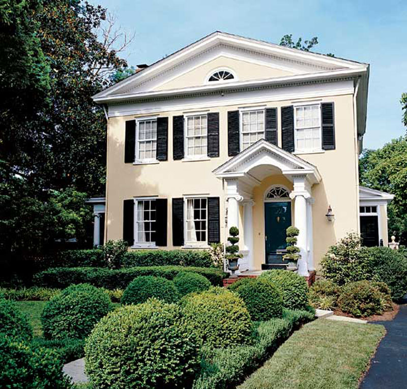 Get the Look SouthernStyle Architecture  Traditional Home