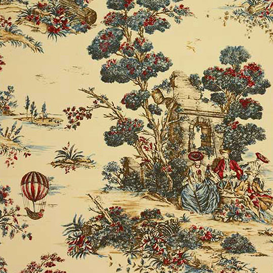 Decorating Ideas Toile Fabric  Traditional Home