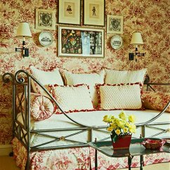 Lime Green And Red Living Room Ideas Chairs Bedroom Decorating Ideas: Totally Toile | Traditional Home