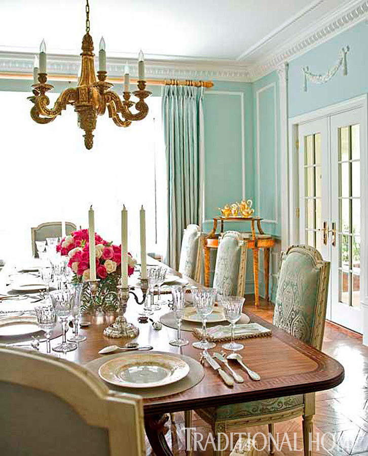Traditional Dining Room Cabinets