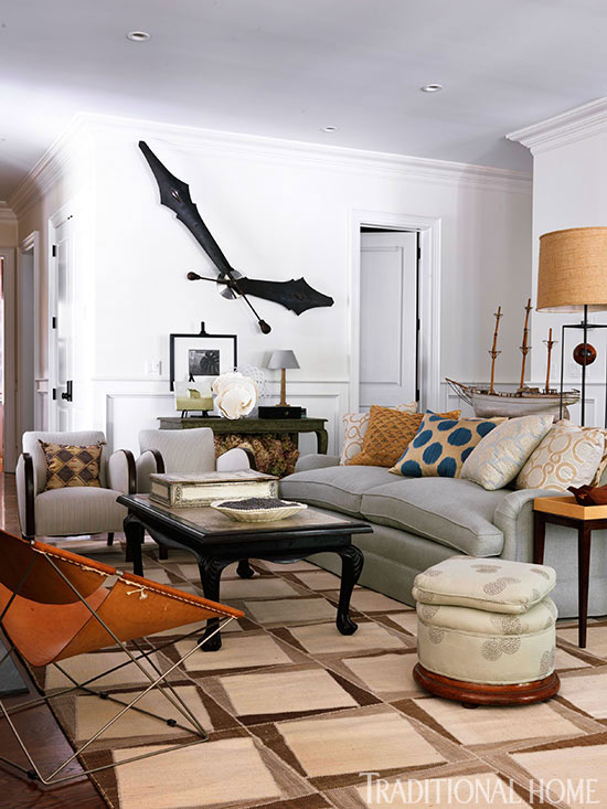 living room clocks next white tile floors in how to decorating with traditional home enlarge