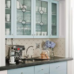 Kitchen Glass Cabinets Upholstered Chairs Distinctive With Front Doors Traditional Home Leaded Door Inserts