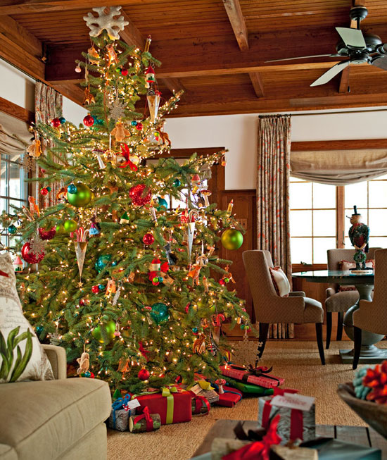 Christmas at the Cabin  Traditional Home