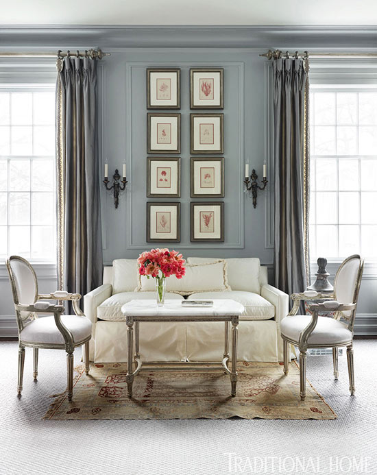 living room decor with grey walls unique chairs for decorating gorgeous gray rooms traditional home enlarge