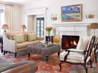Elegant Living Rooms in Neutral Colors | Traditional Home