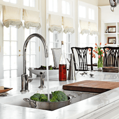Kitchen Islands Ideas Stainless Steel Sinks 12 Great Island Traditional Home Enlarge Werner Straube Why Customize Your