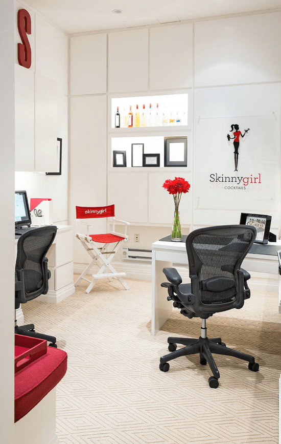 hickory chair banquette office from car seat before and after: bethenny frankel's remodeled tribeca loft | traditional home