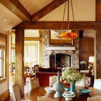 Comfort and Style for a Rustic Mountain Home | Traditional ...