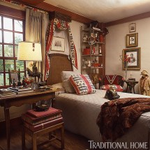 Beautiful Traditional Home Bedroom