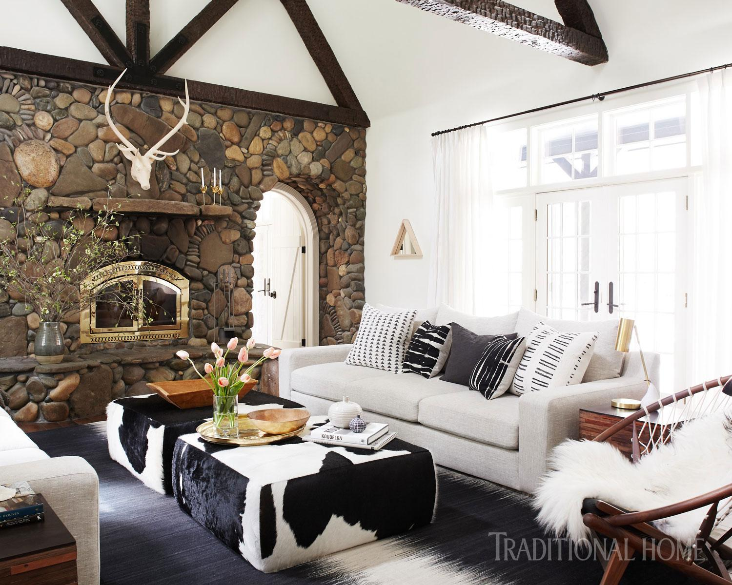 Spirited Tahoe Cabin  Traditional Home