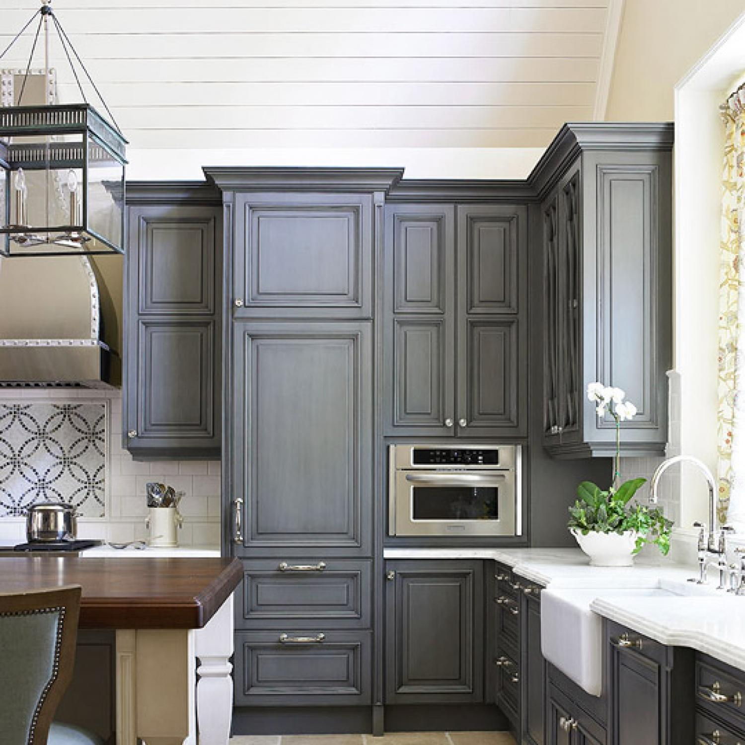Kitchen Room Bedroom Kitchen Cabinets With Furniture Style Flair Traditional Home
