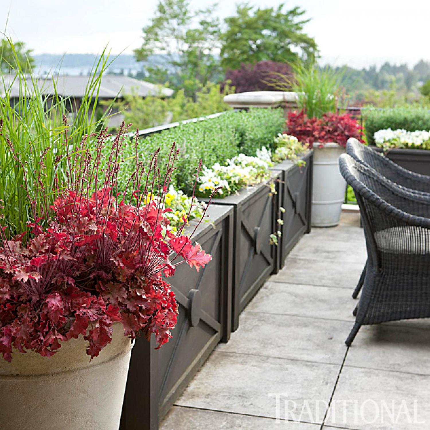 FrenchInspired Garden in the Pacific Northwest