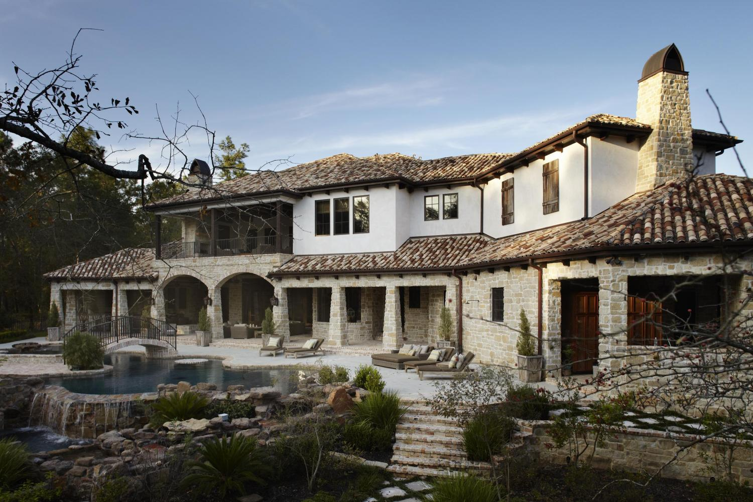 Traditional Mediterranean Style House