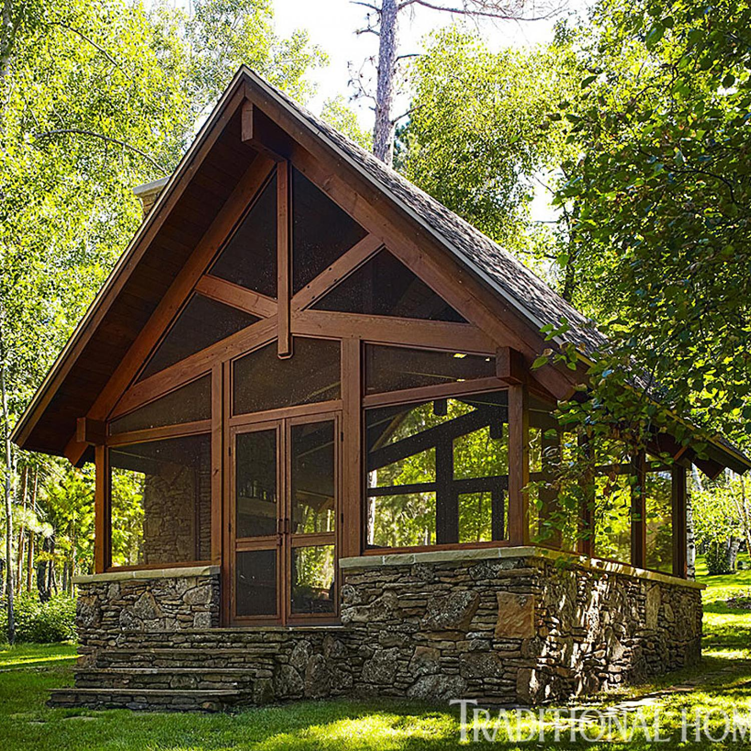 Outdoor Screen Houses and Gazebos