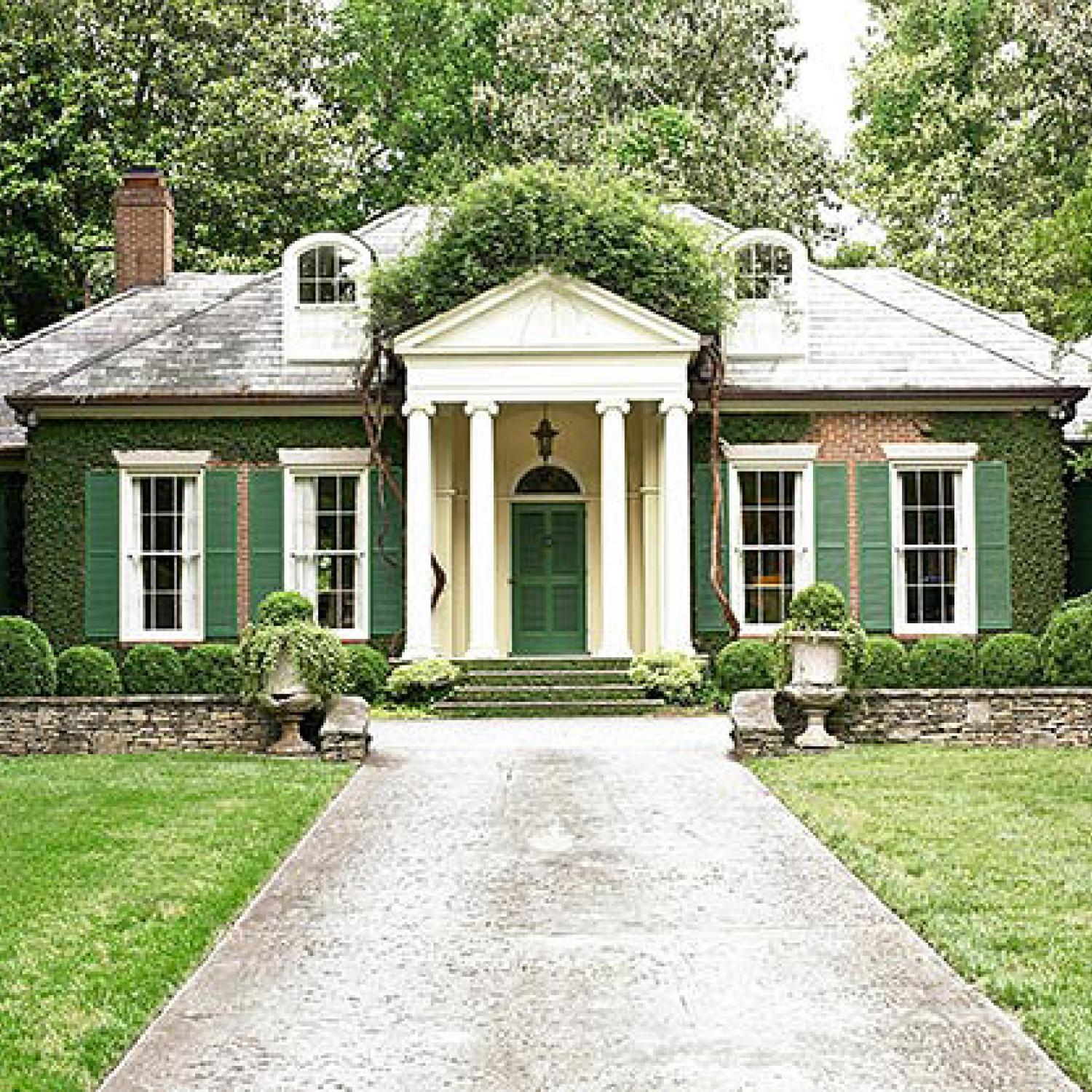 Sage Green Exterior House Colors