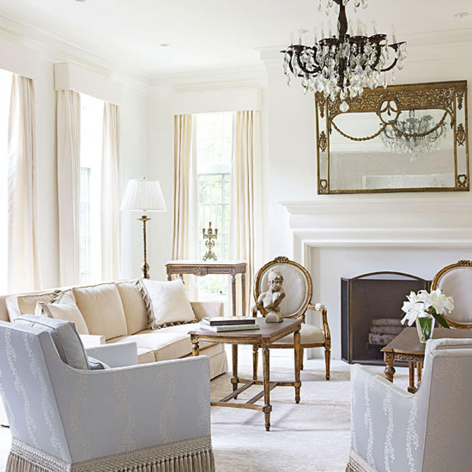 Bright White And Inviting Family Home Traditional Home