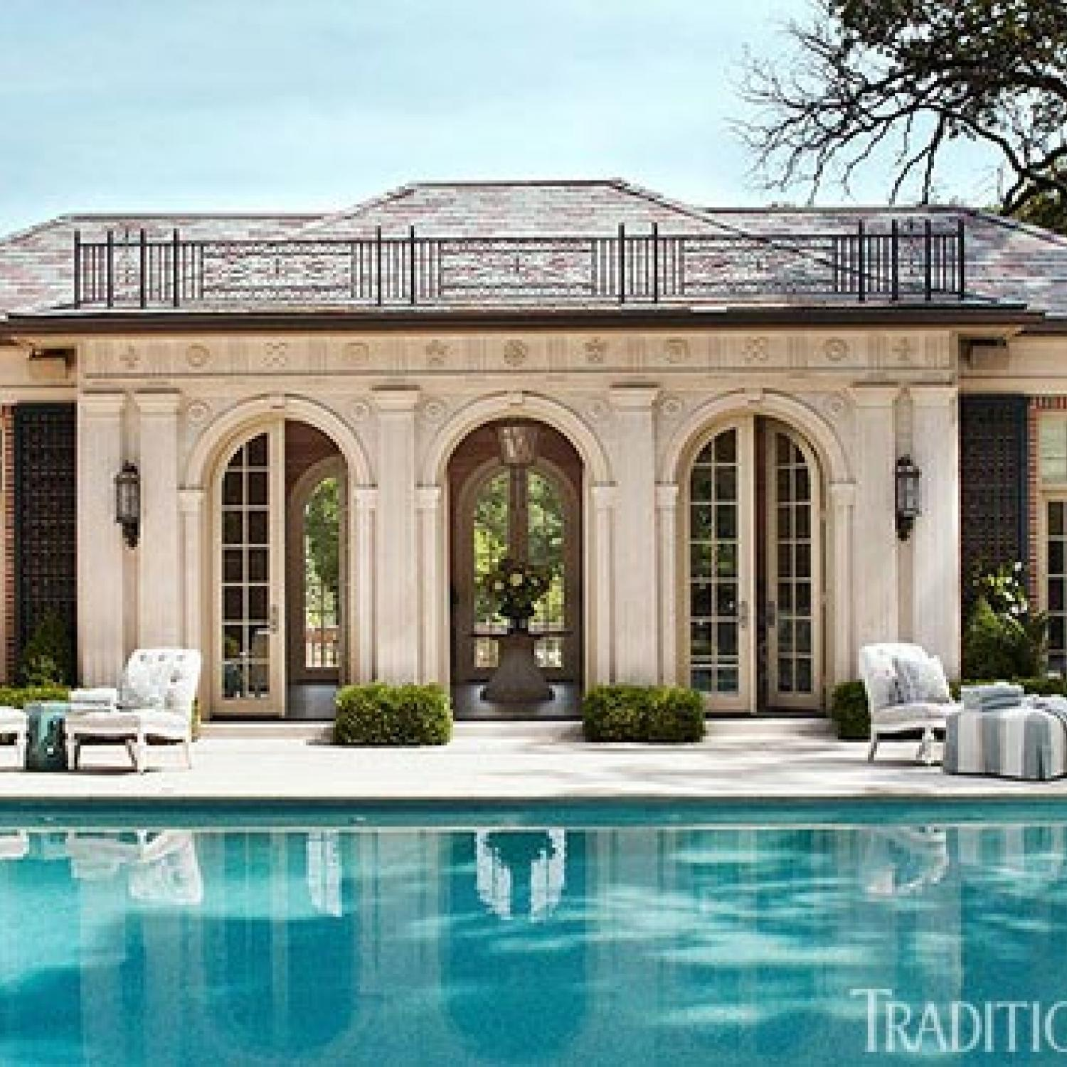 Pool House Architecture Style