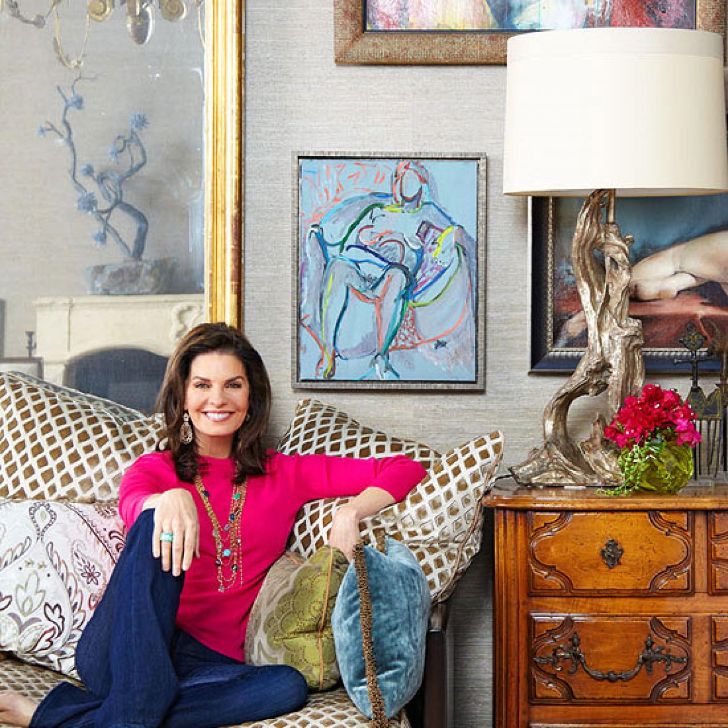 Sela Wards Stylish Bel Air Home With a Southern Soul  Traditional Home