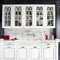 kitchen cabinet replacement doors glass inserts ...