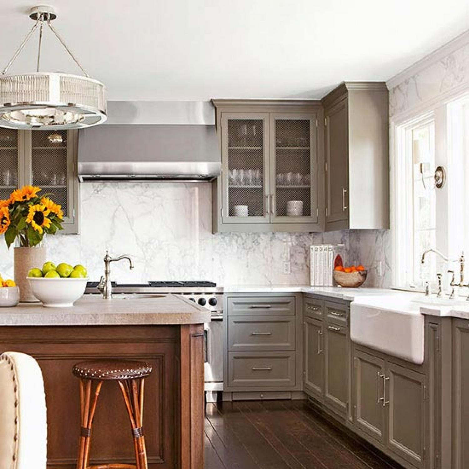 Kitchens Relaxed and Refined  Traditional Home