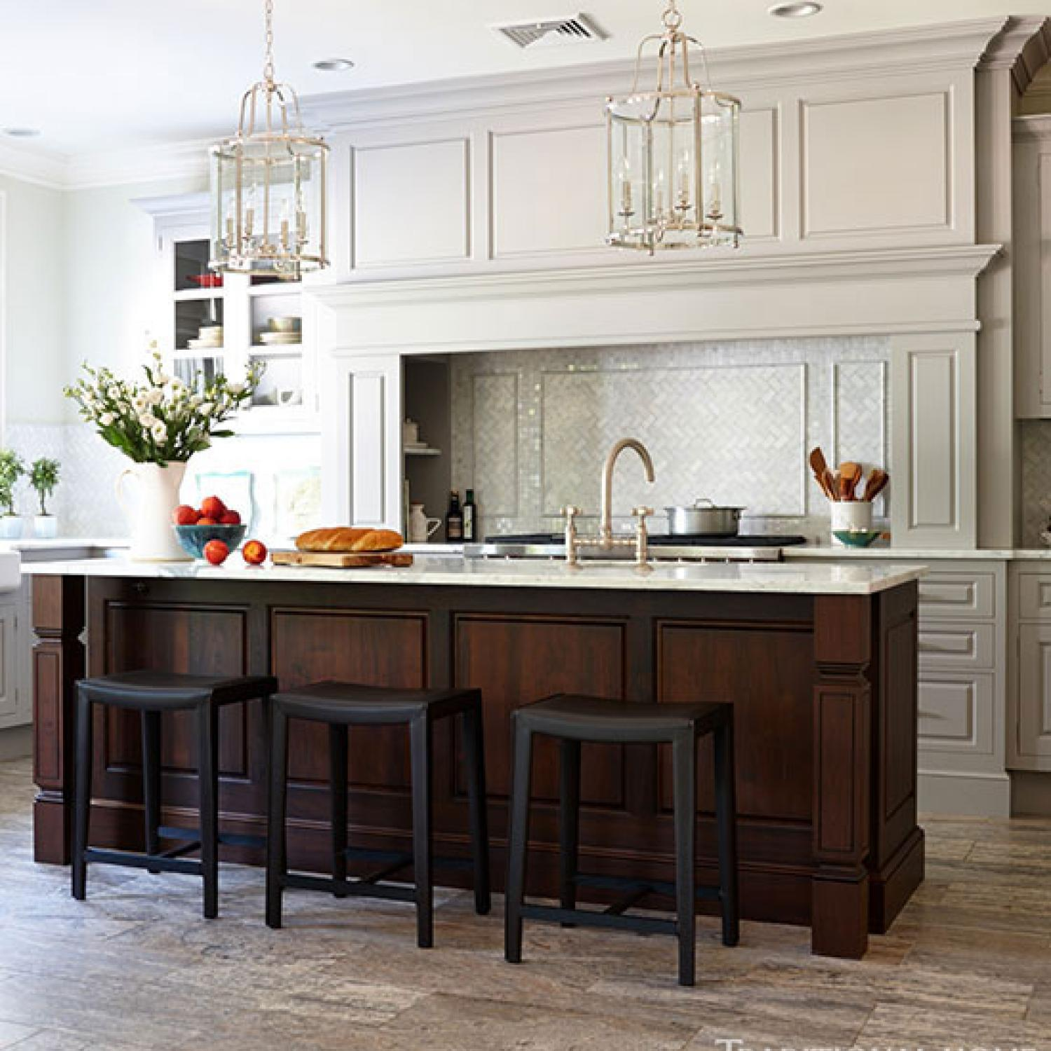 Organized Efficient Kitchen With Cool And Classic Styling