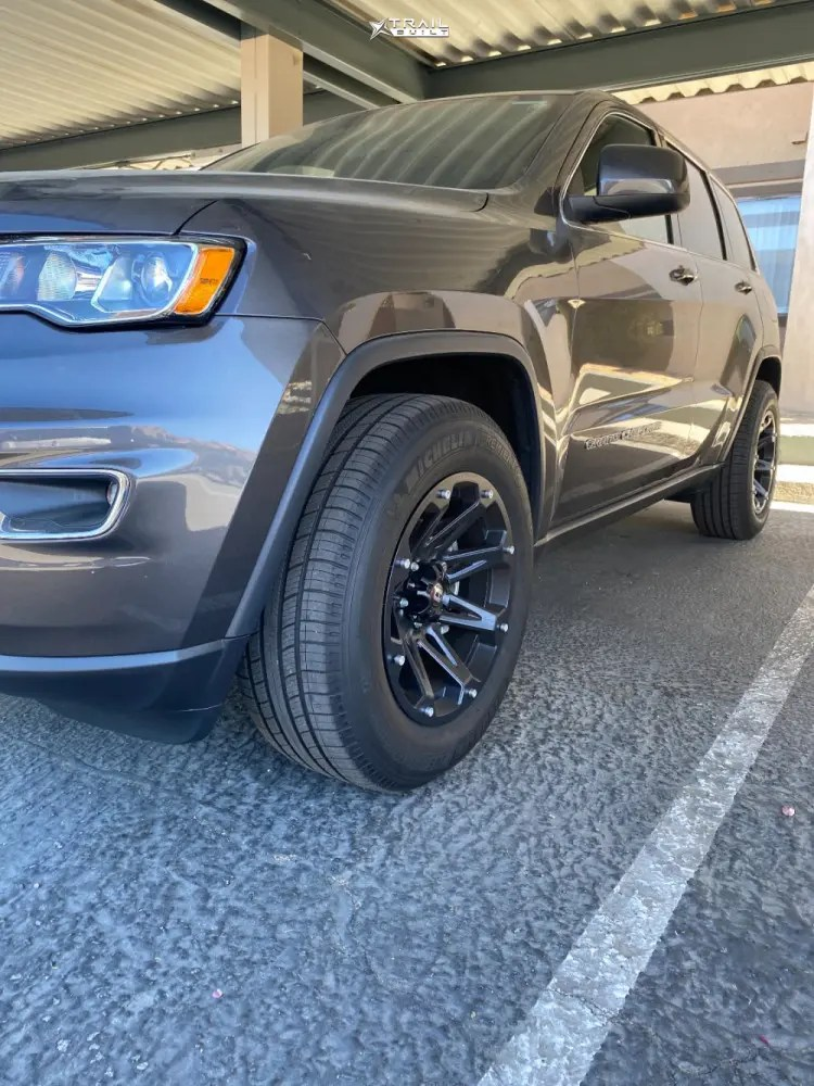 Jeep Grand Cherokee Leveling Kits : grand, cherokee, leveling, Wheel, Offset, Grand, Cherokee, Aggressive, Outside, Fender, Stock, TrailBuilt, Off-Road