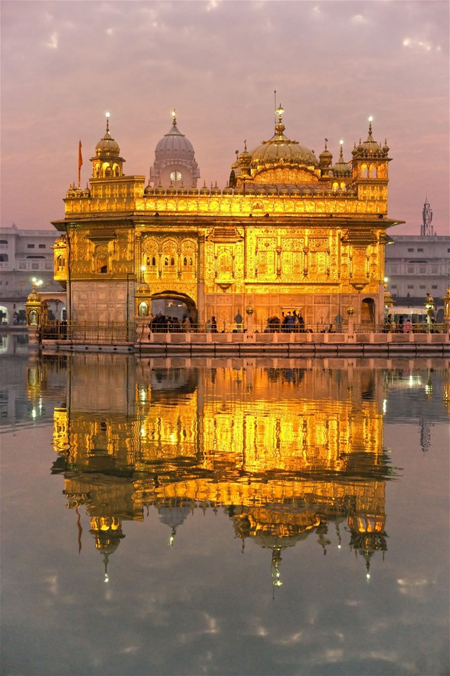 Palki Sahib Ceremony at the Golden Temple  Touring with