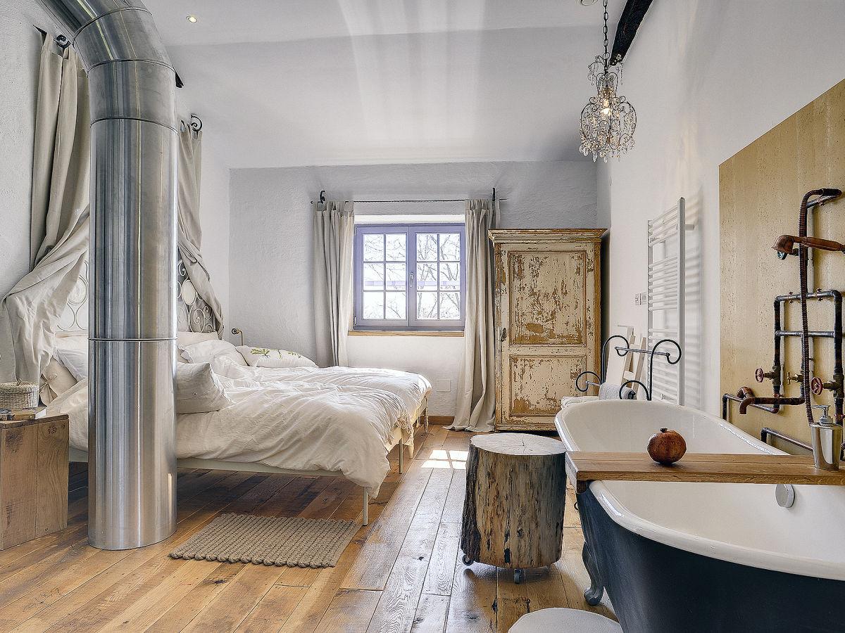 Badewanne Im Schlafzimmer Ferienhaus Heidehus Sylt Firma