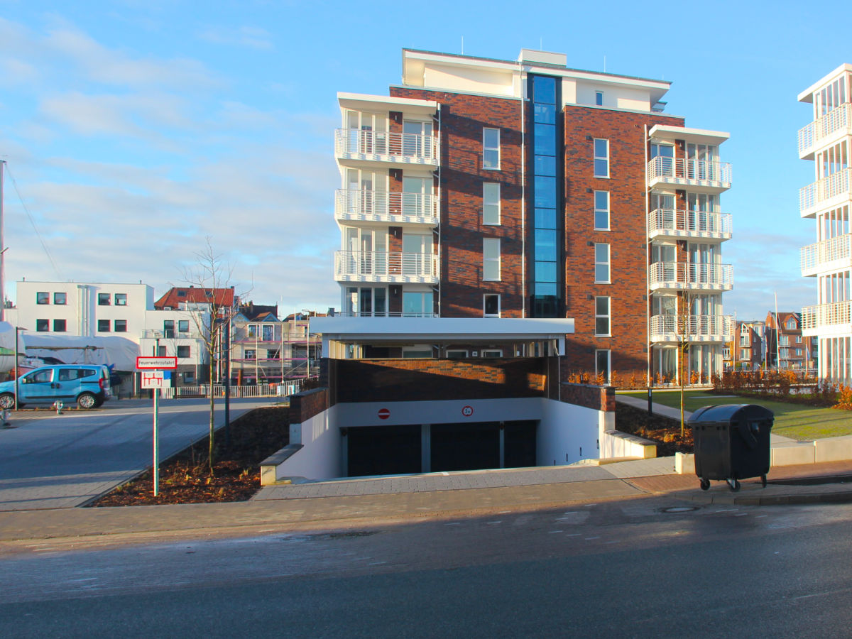 Ferienwohnung Wohnen am Yachthafen W25 Cuxhaven Zentrum