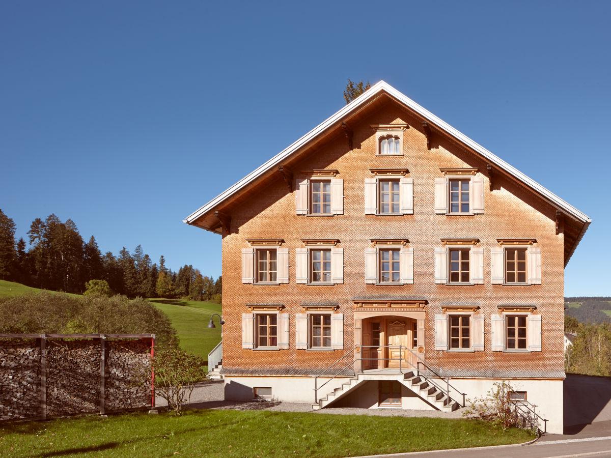 Ferienhaus Waelderhus Tamegger Krumbach Vorarlberg