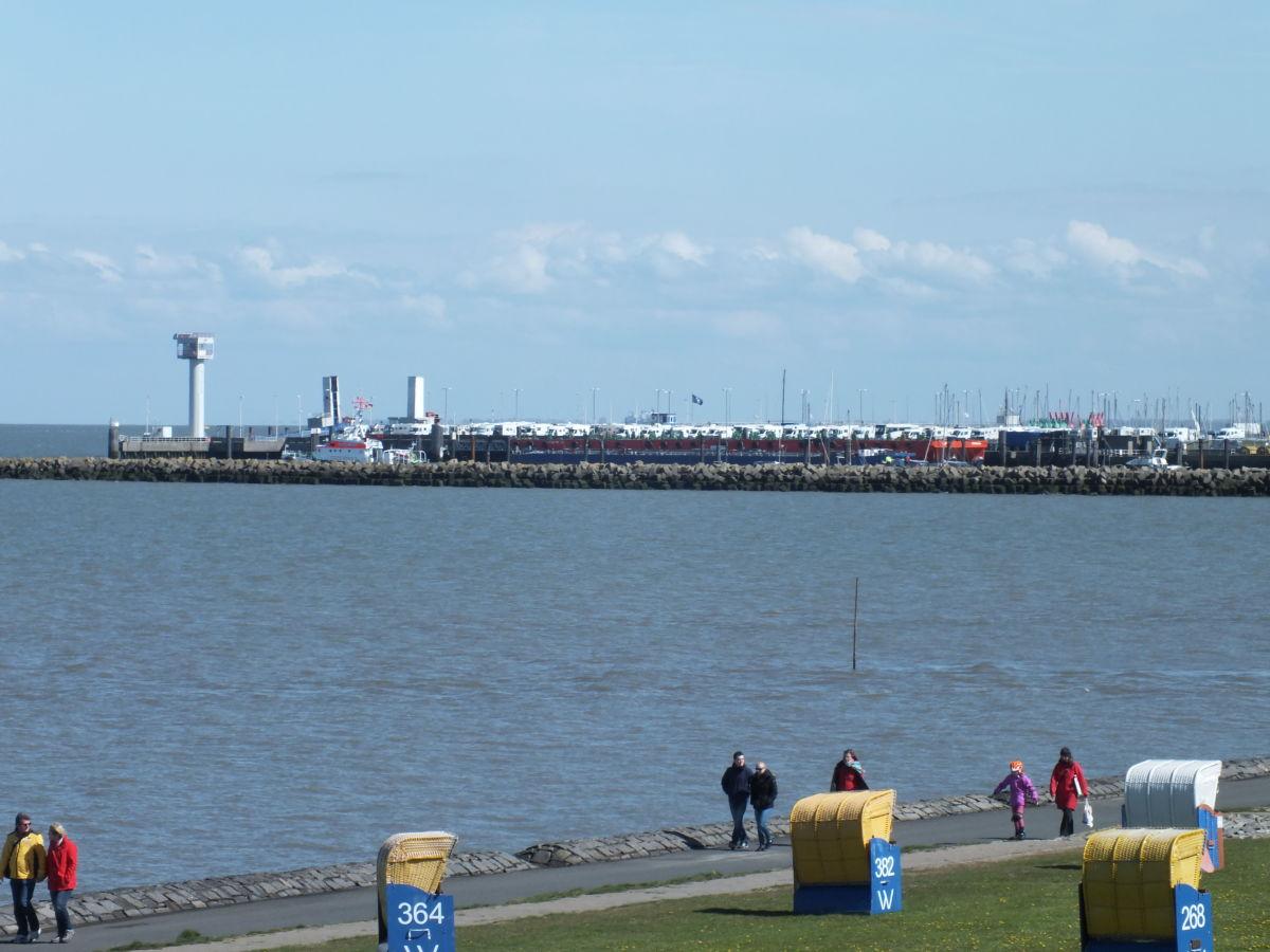 Ferienwohnung Kapitn im Yachthafen Cuxhaven Zentrum