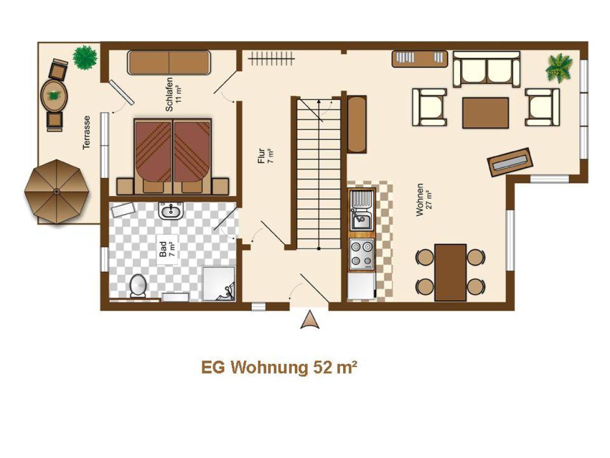 Ferienwohnung Haus Annelie EG MecklenburgVorpommern Ostsee Rgen  Frau Annelie Hoppe