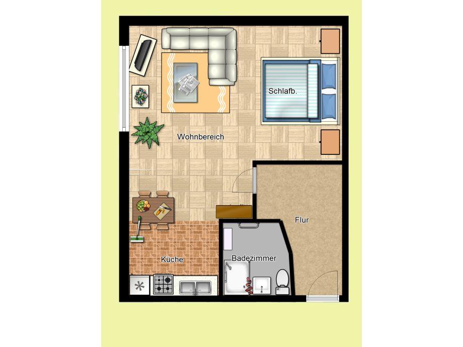 Apartment im Ferienhaus Wildt in Petersdorf, Fehmarn (Petersdorf) - Firma Ferienanlage Wildt