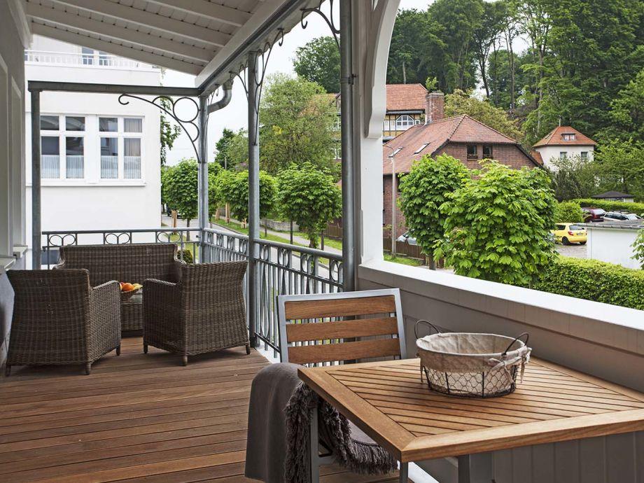 Ferienwohnung Veranda der Villa Fabiola Binz auf Rgen