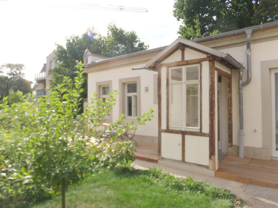 Ferienwohnung Gartenhaus Auguste Sachsen DresdenNeustadt  Frau Martina Schmidt