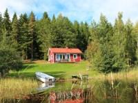 Ferienhaus direkt am See Bunn in Alleinlage, Schweden ...