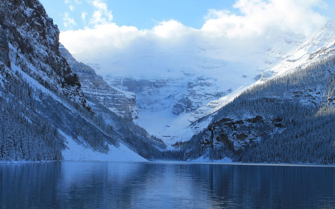 Lake Louise in the winter Banff