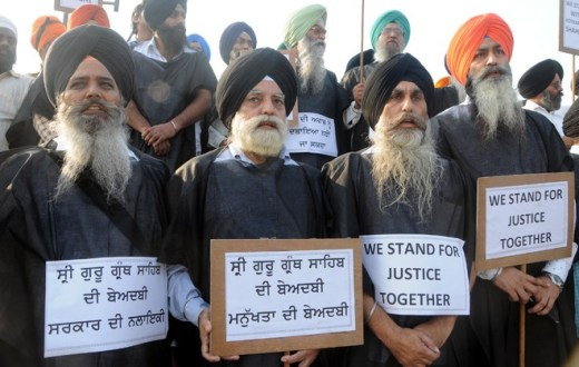 Sikh outfit protests killing of youth