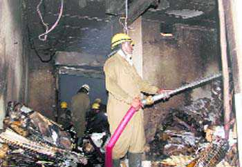 Fire in Chandni Chowk; no casualty