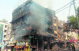 Major fire at Taimoor Nagar; no casualty